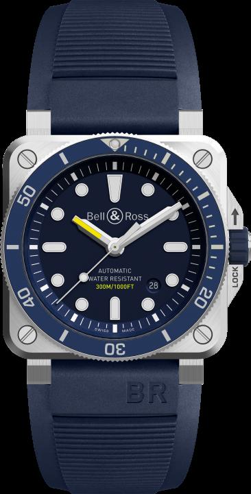 BR 03-92 ダイバー ブルー(1)-Bell & Ross(ベル & ロス)