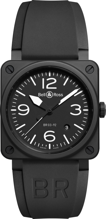 BR 03-92 ブラック マット(1)-Bell & Ross(ベル & ロス)