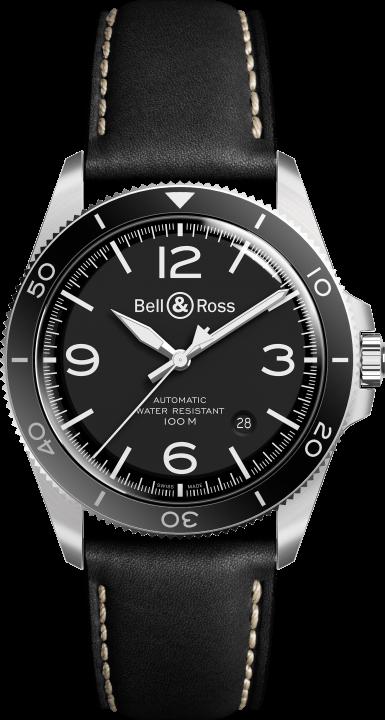 BR V2-92ブラック スティール(1)-Bell & Ross(ベル & ロス)