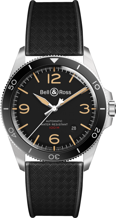 BR V2-92 スティール ヘリテージ(1)-Bell & Ross(ベル & ロス)