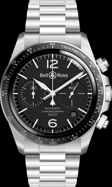 BR V2-94 ブラック スティール(1)-Bell & Ross(ベル & ロス)