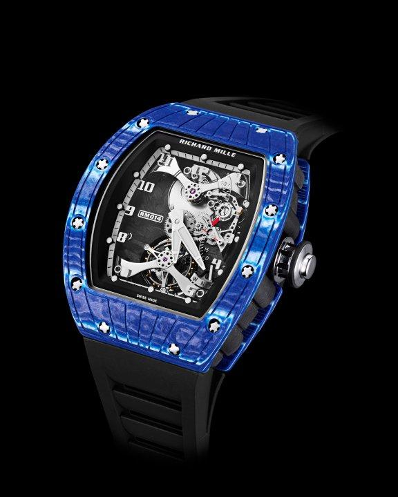 RM 014 トゥールビヨン ジャパン・ブルー(1)-RICHARD MILLE(リシャール・ミル)