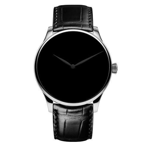 ベンチャー・コンセプト ベンタブラック® ブラックハンズ XL(1)-H.Moser&Cie(H.モーザー)
