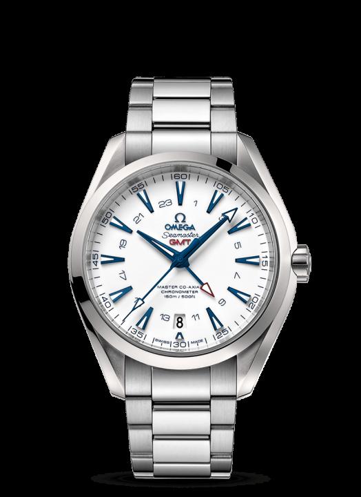 シーマスター アクアテラ 150M マスター コーアクシャル GMT 43MM(1)-OMEGA(オメガ)
