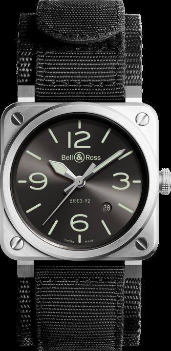 BR 03-92 グレー ラム(2)-Bell & Ross(ベル & ロス)